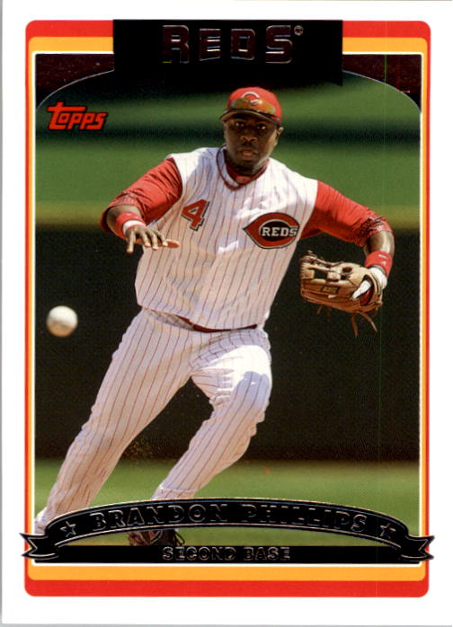 2006 Topps Update #50 Brandon Phillips