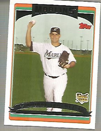2006 Topps Update #142 Anibal Sanchez (RC)