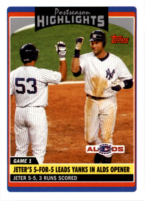 2006 Topps Update #183 Derek Jeter PH