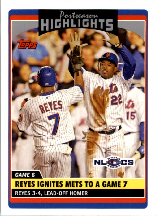 2006 Topps Update #192 Jose Reyes PH