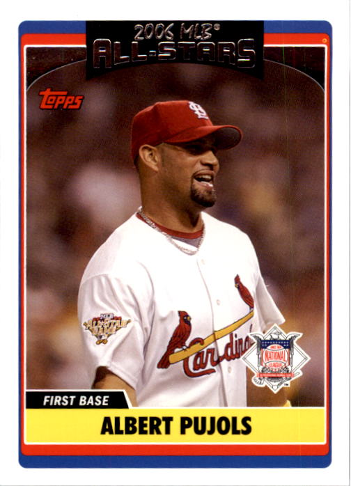 2006 Topps Update #229 Albert Pujols AS