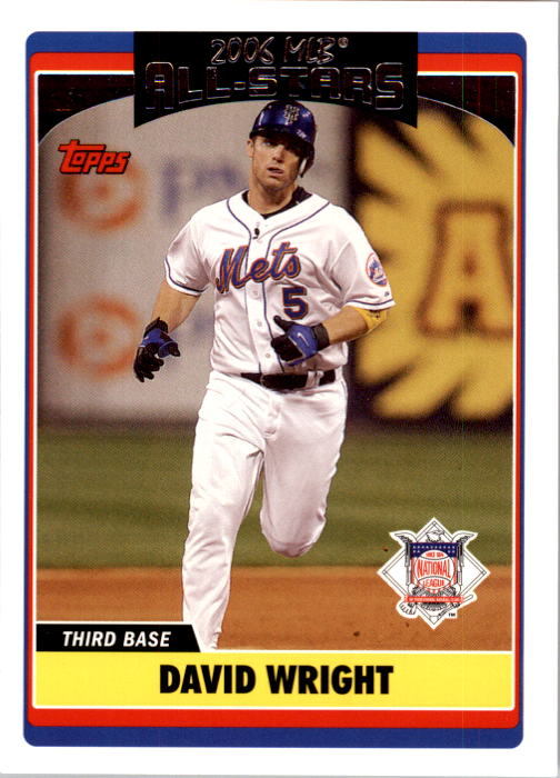 2006 Topps Update #232 David Wright AS