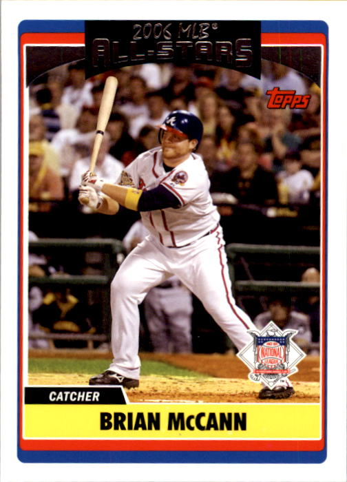 2006 Topps Update #258 Brian McCann AS
