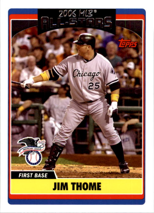 2006 Topps Update #262 Jim Thome AS