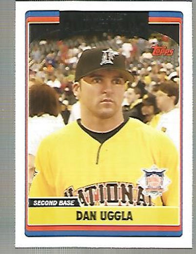 2006 Topps Update #263 Dan Uggla AS