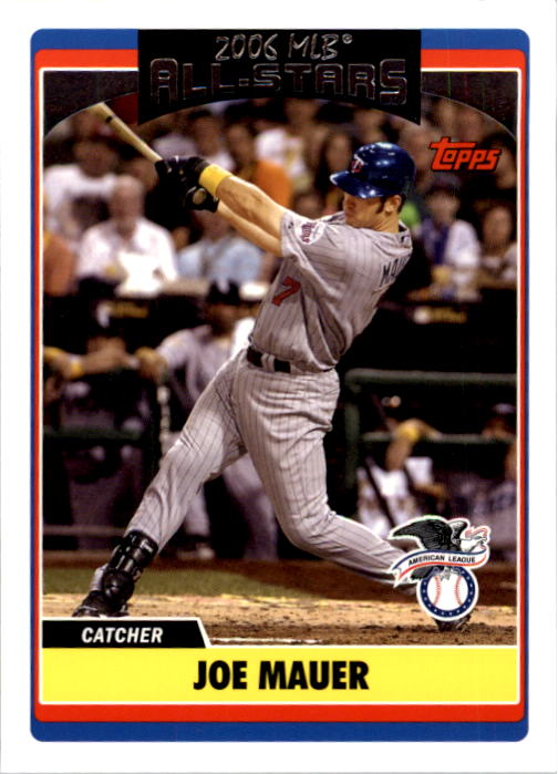 2006 Topps Update #271 Joe Mauer AS