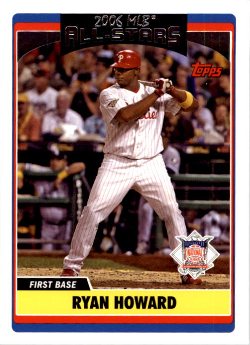 2006 Topps Update #273 Ryan Howard AS