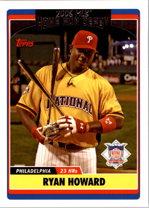 2006 Topps Update #283 Ryan Howard HRD