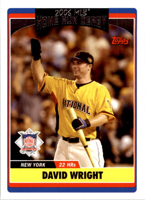 2006 Topps Update #284 David Wright HRD