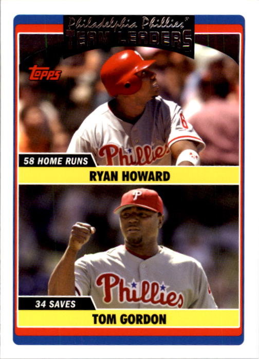 2006 Topps Update #292 R.Howard/T.Gordon TL
