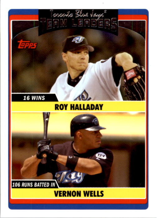 2006 Topps Update #309 R.Halladay/V.Wells TL