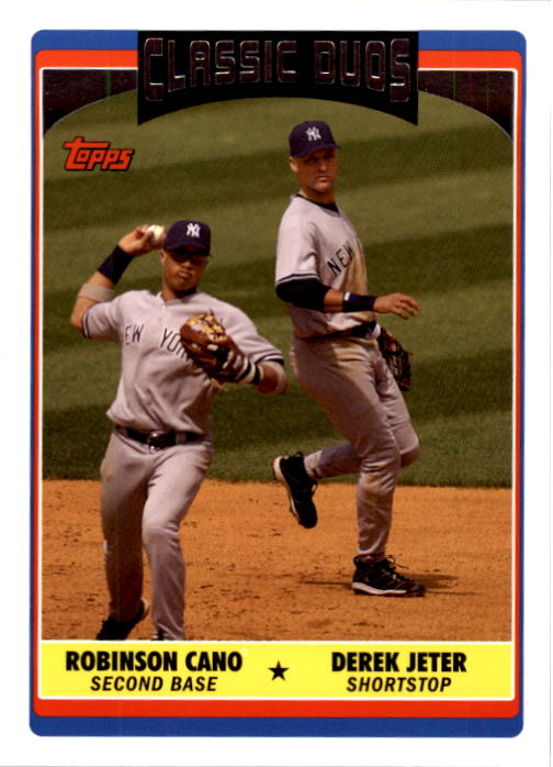 2006 Topps Update #321 D.Jeter/R.Cano CD