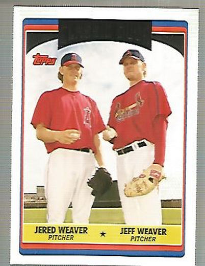 2006 Topps Update #330 J.Weaver/J.Weaver CD