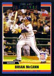 2006 Topps Update Black #258 Brian McCann AS
