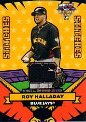2006 Topps Update All Star Stitches #RH Roy Halladay Jsy