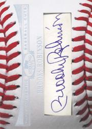 2006 Topps Sterling Baseball Cut Signatures #BR Brooks Robinson