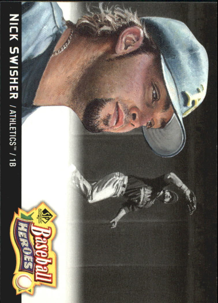 2006 SP Authentic Baseball Heroes #31 Nick Swisher