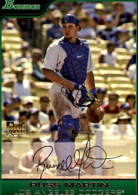 2006 Bowman Draft #13 Russ Martin (RC)