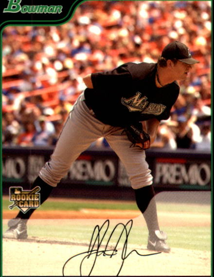 2006 Bowman Draft #24 Josh Johnson (RC)