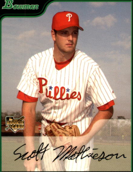 2006 Bowman Draft #28 Scott Mathieson (RC)