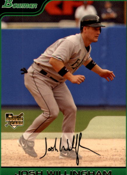 2006 Bowman Draft #36 Josh Willingham (RC)