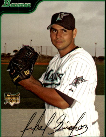 2006 Bowman Draft #44 Anibal Sanchez (RC)
