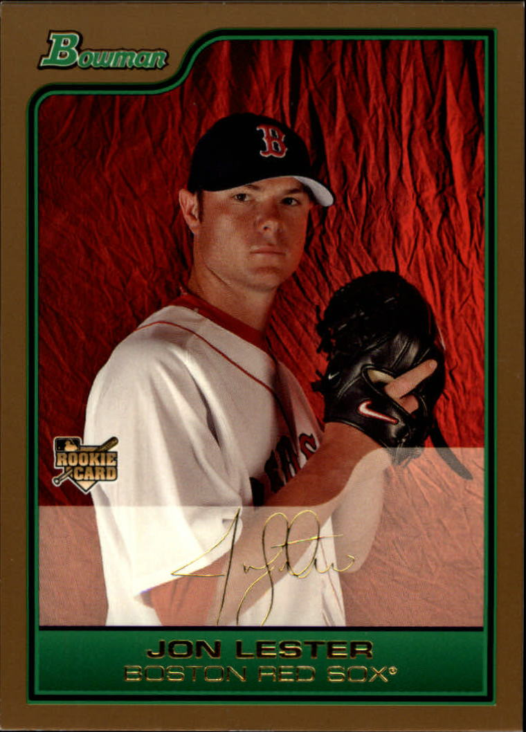 2006 Bowman Draft Gold #22 Jon Lester