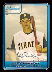 2006 Bowman Draft Draft Picks #48 Alex Presley