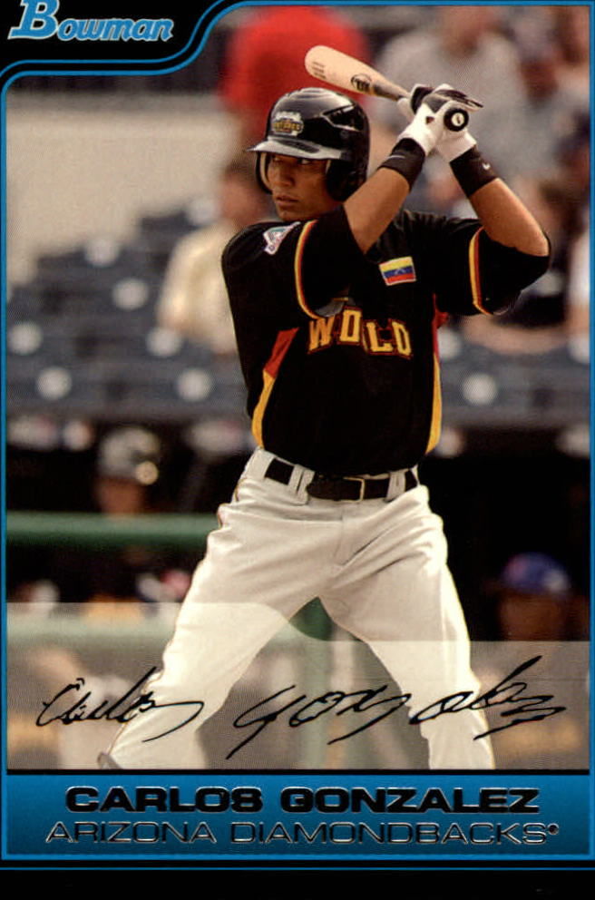 2006 Bowman Draft Future's Game Prospects #43 Carlos Gonzalez