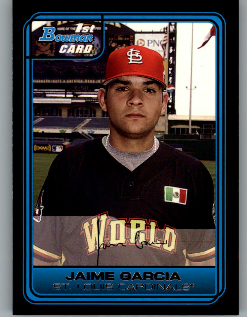 2006 Bowman Draft Future's Game Prospects #44 Jaime Garcia
