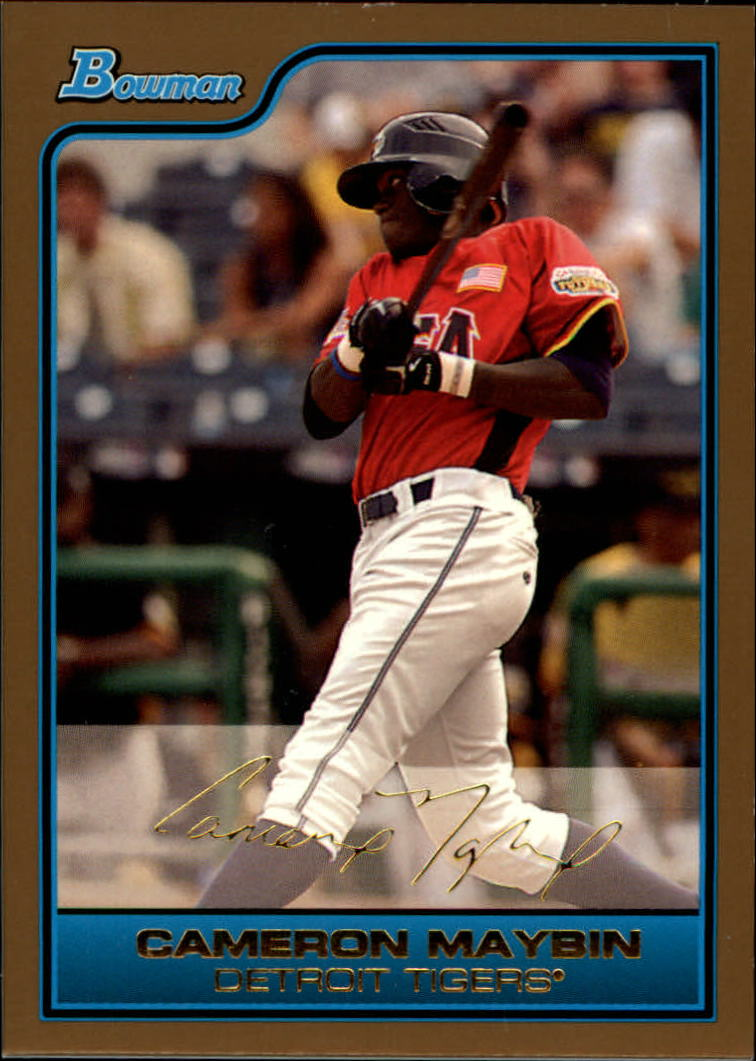 2006 Bowman Draft Future's Game Prospects Gold #16 Cameron Maybin
