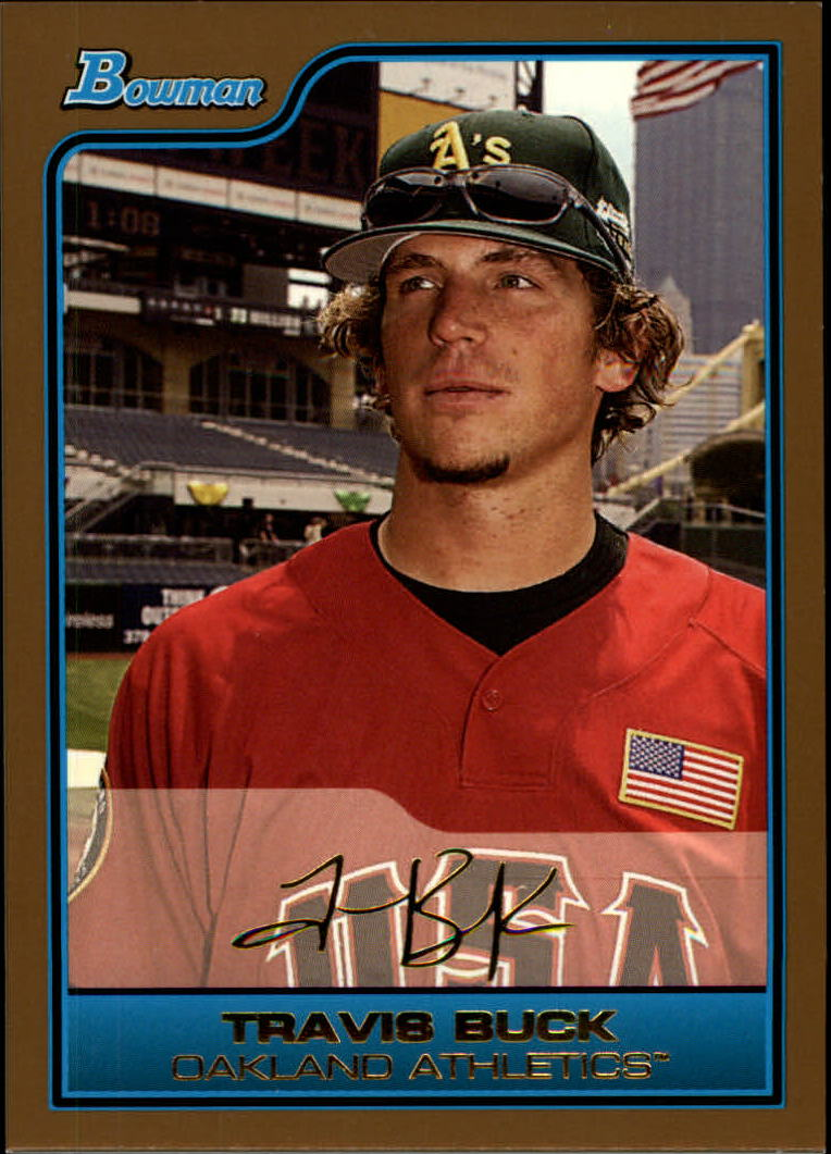 2006 Bowman Draft Future's Game Prospects Gold #35 Travis Buck