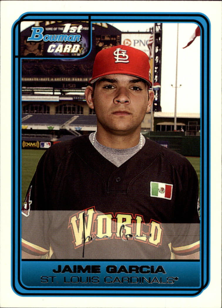 2006 Bowman Draft Future's Game Prospects White #44 Jaime Garcia