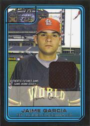2006 Bowman Draft Future's Game Prospects Relics #44 Jaime Garcia Jsy B