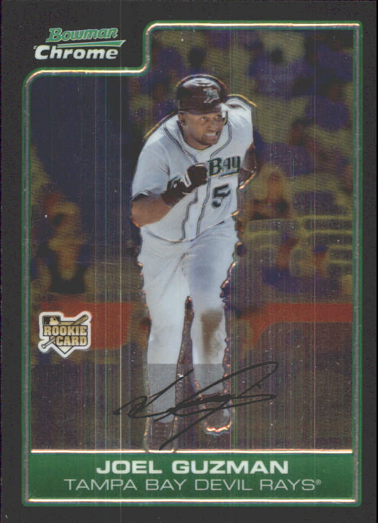 2006 Bowman Chrome Draft #38 Joel Guzman (RC)