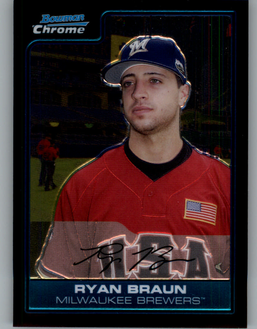 2006 Bowman Chrome Draft Future's Game Prospects #3 Ryan Braun