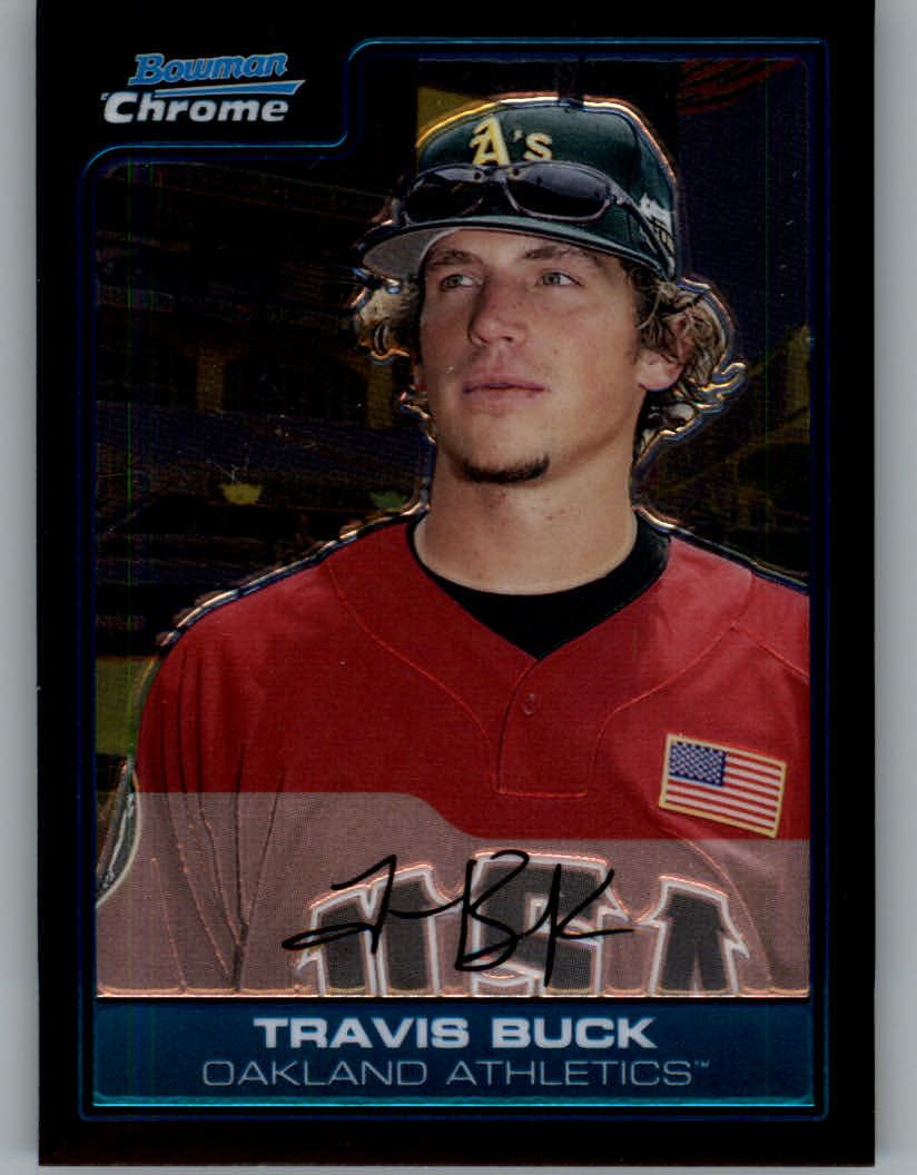 2006 Bowman Chrome Draft Future's Game Prospects #35 Travis Buck