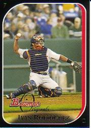 2006 Bowman Originals Black #18 Ivan Rodriguez