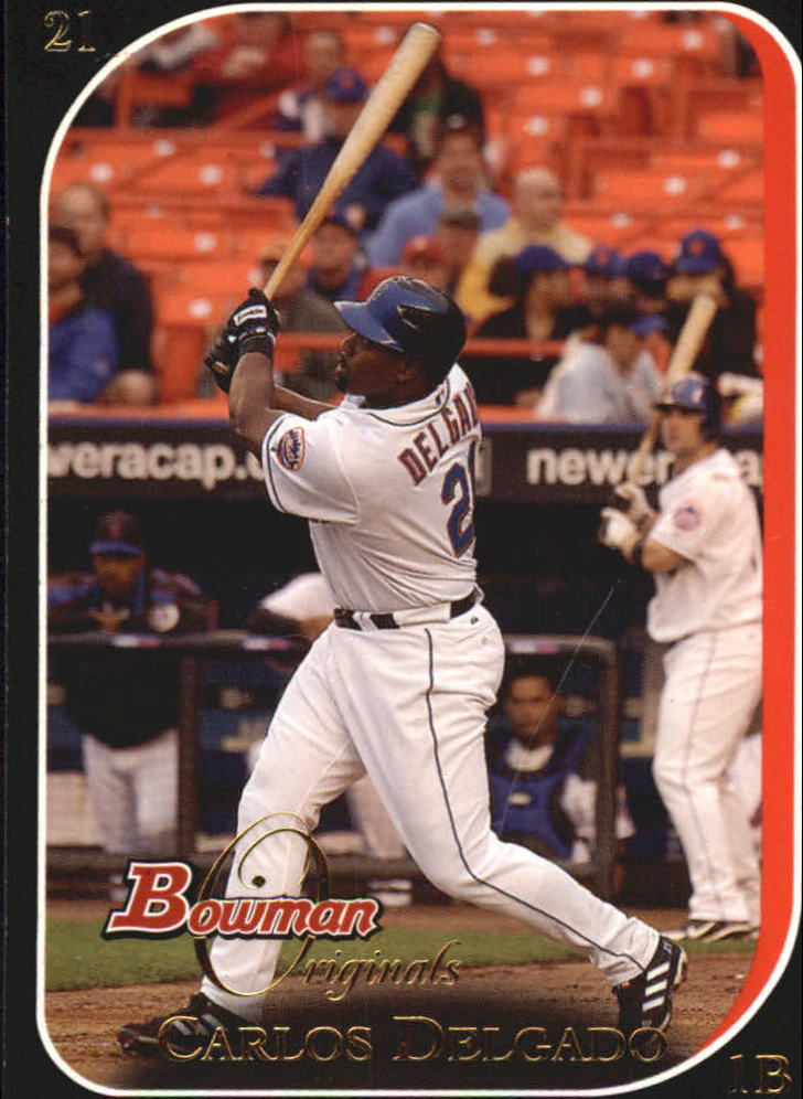 2006 Bowman Originals Black #21 Carlos Delgado