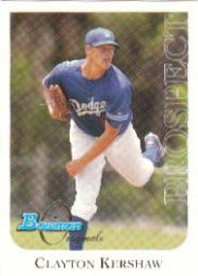 2006 Bowman Originals Prospects #13 Clayton Kershaw
