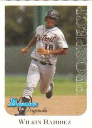 2006 Bowman Originals Prospects #22 Wilkin Ramirez