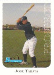2006 Bowman Originals Prospects #35 Jose Tabata