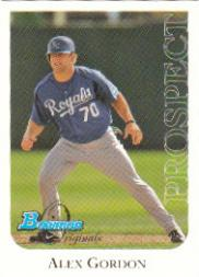 2006 Bowman Originals Prospects #50 Alex Gordon
