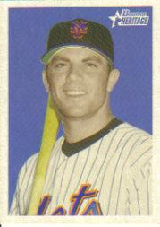 2006 Bowman Heritage #1 David Wright