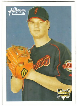 2006 Bowman Heritage #298 Matt Cain SP (RC)