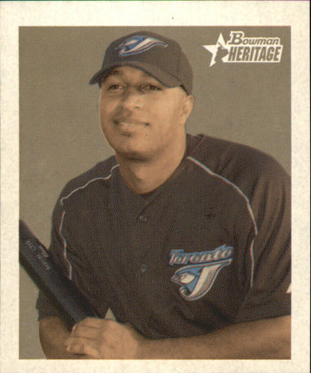 2006 Bowman Heritage Mini #265 Vernon Wells