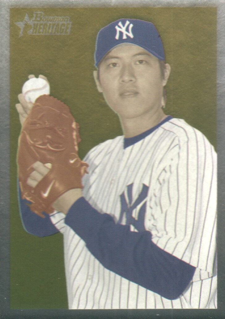 2006 Bowman Heritage Chrome #59 Chien-Ming Wang