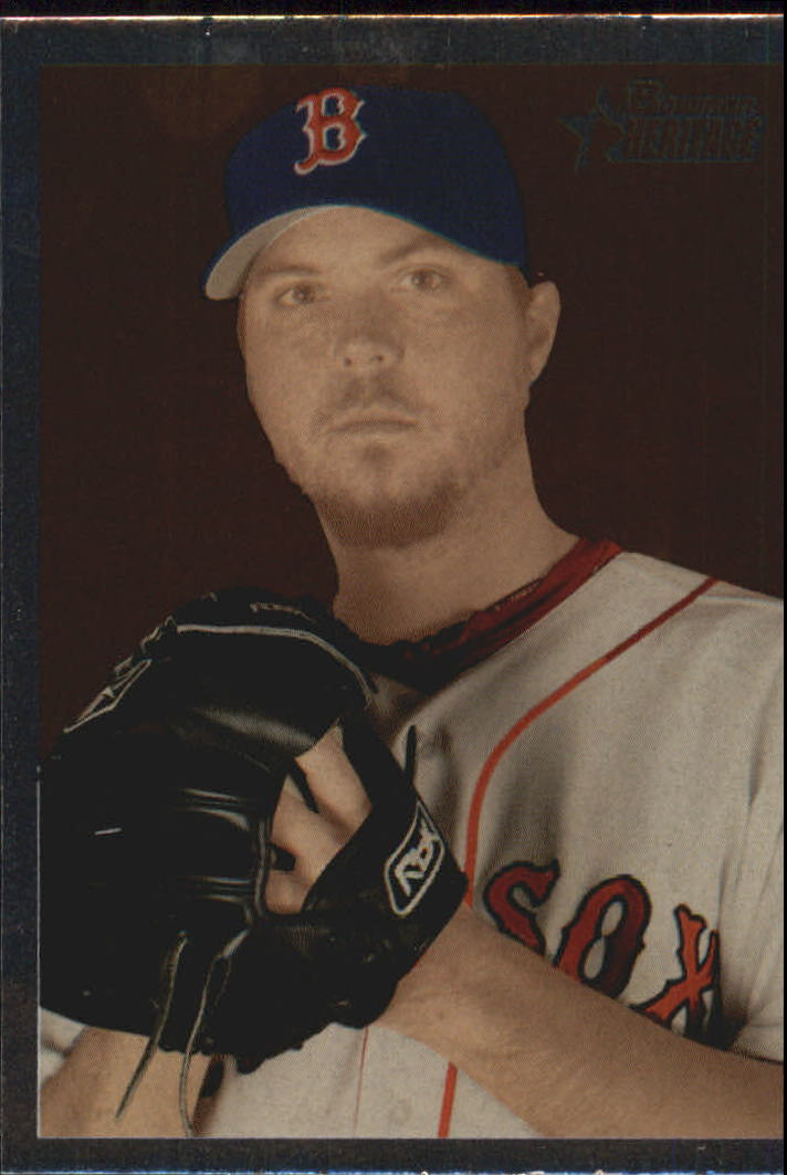 2006 Bowman Heritage Chrome #60 Josh Beckett