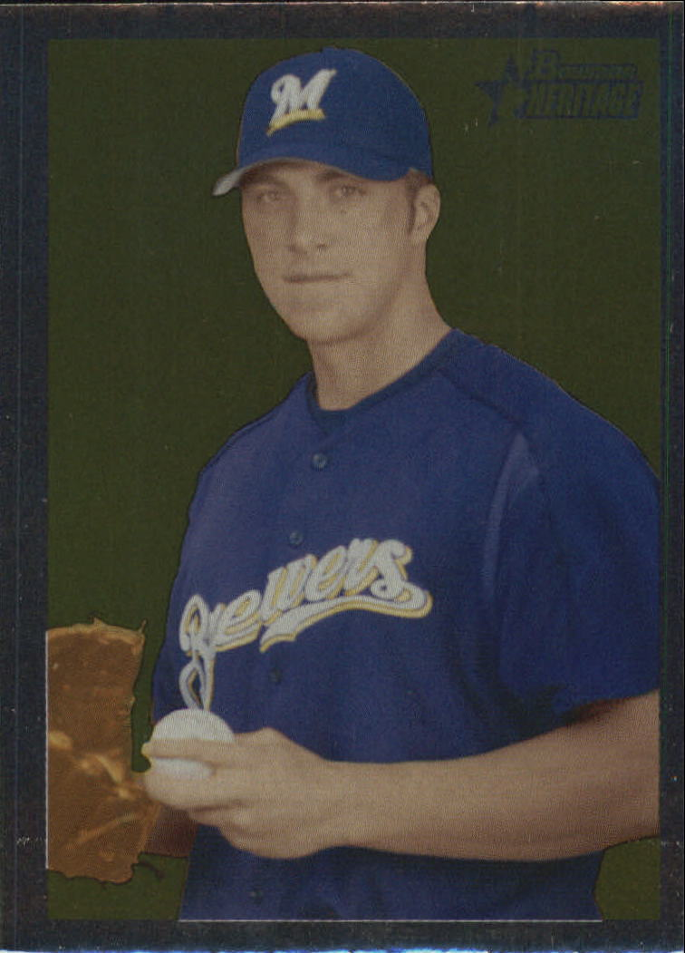 2006 Bowman Heritage Chrome #196 Chris Capuano