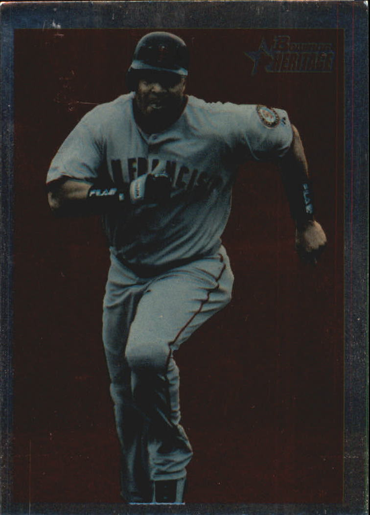 2006 Bowman Heritage Chrome #275 Barry Bonds